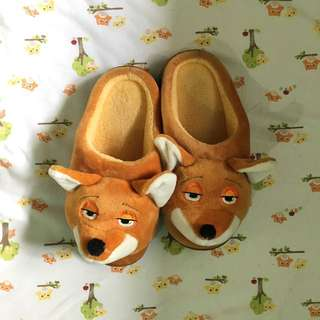 Fox Bedroom Slippers for Toddlers