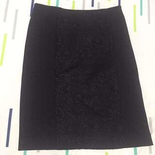 Zara Bodycon Skirt Black