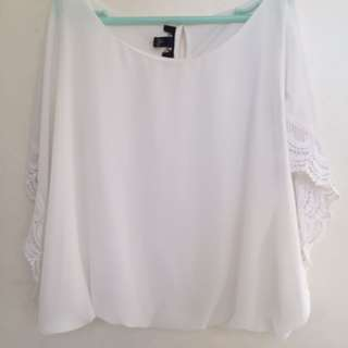 White Summery Top