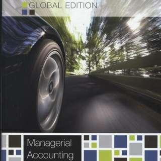 AD2101 Management Accounting, NBS, Hilton Platt 10 edition