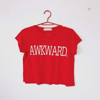 GTW Urban AWKWARD Crop top