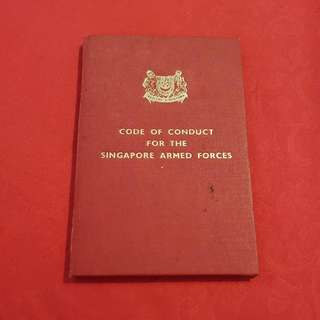Code Of Conduct For The Singapore Arm Forces