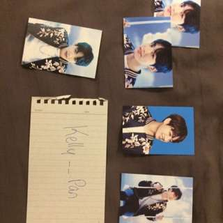 WINGS TOUR PHOTOCARDS