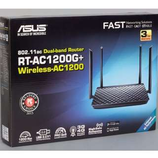Asus High Speed Router RT-AC1200G+