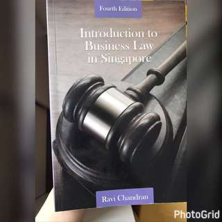 Introduction To Business Law In Singapore BSP1004