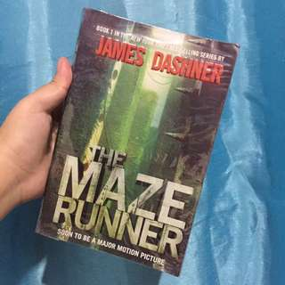 Maze Runner by James Dashner