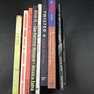 REPRICED JESSICA ZAFRA Twisted Books Bundle of 9