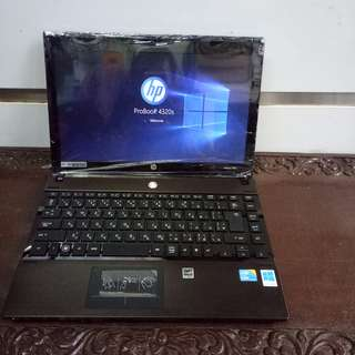 Laptop Hp Probook 4320s Intel Core i5 Stenlist Almunium Body