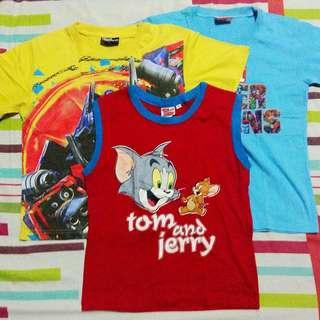 Lot Of 3 Character Shirts