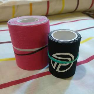Athletic Tape (Y type and 3 inch strips)