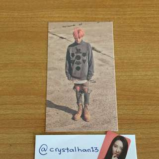 G Dragon MADE official photocard