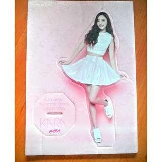 Kara Hara paper doll and day&night photocard