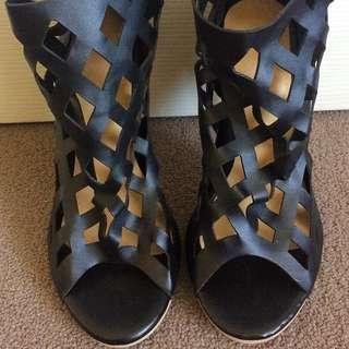 Women's Stiletto High Cris Cross Stiletto
