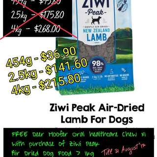 Ziwi Peak Lamb For Dogs