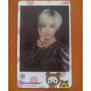 T-ara  Eunjung / Hyomin / Qri photocard
