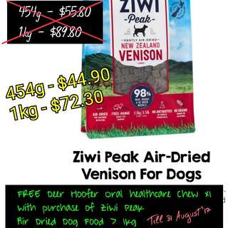 Ziwi Peak Venision For Dogs