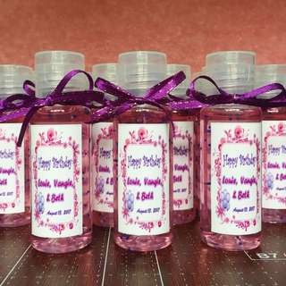 Personalized Giveaways Handsanitizers