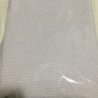 Brand New Fitted Sheet-- Single Size Light Purple Colour