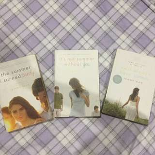 summer trilogy by jenny han