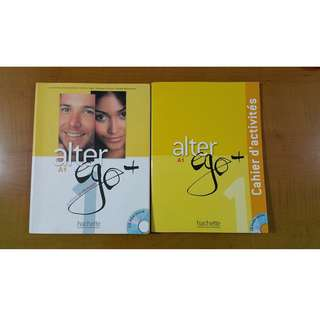 Alter Ego French Textbook + Activity Book (LF9001/9002/9003)
