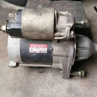 Starter Motor For 4g13 & 4g15