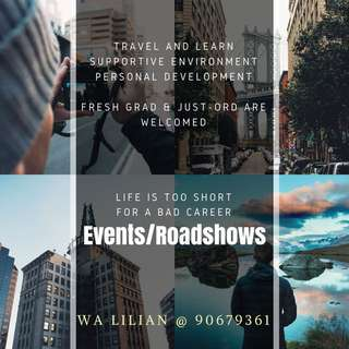 Events Roadshows Helpers