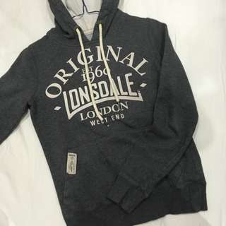 Lonsdale London Grey Jumper