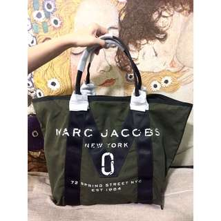Marc Jacob New Tote Bag Canvas Leather