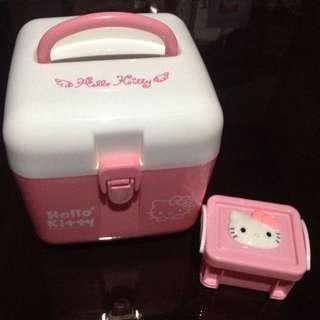 Hello Kitty First Aid Kit & Hello Kitty Utility Box