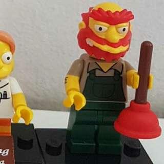 Lego Mini Figures Simpson Series 2