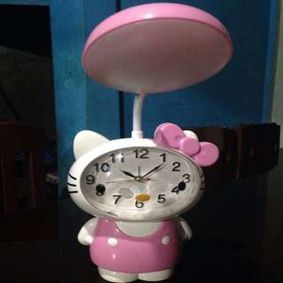 Hello Kitty Watch with Lamp Shade