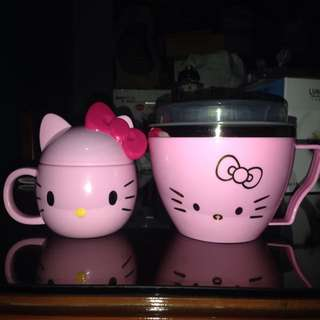 Hello Kitty Cup & Bowl