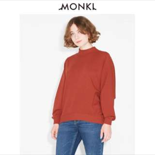 Burnt Orange Monki Sweater