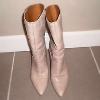 Ladies Nine West Boots Size 6.5 Leather