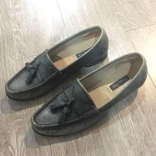 Massimo Dutti Leather Loafers