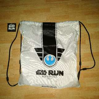 Drawstring Bag - Star Wars Run 2017 (Light Side)