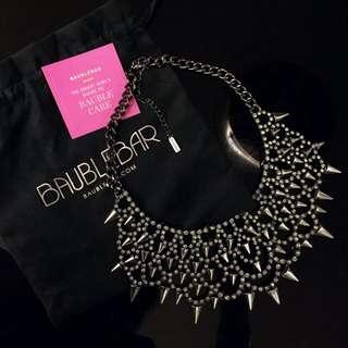 Baublebar x Coco Rocha Spiky Statement Necklace