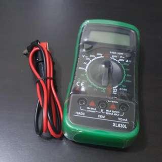 Brand New Digital LCD Multimeter Volt Meter Ammeter