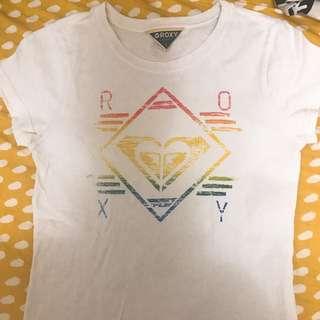 Roxy基本款tshirt