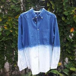 Uniqlo Washed-Jeans Shirt