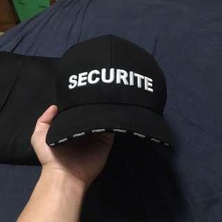 Vetements Securite Cap (FAKE)