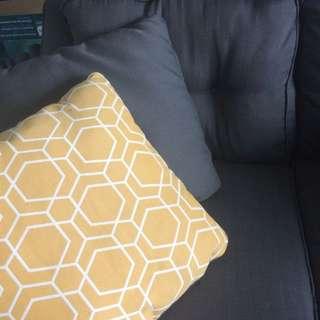 "Brand New Reversible 20"" Cushions"