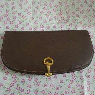 Gucci Clutch Bag In Gold Hardware