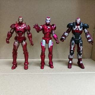 Marvel Universe Ironman Set 3.75 Inch.