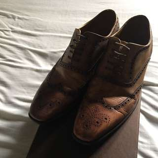 MARIO MINARDI Pre loved Mens Barroque style Shoes (like Prada,Gucci,Tods Style)