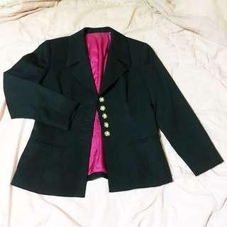 黑色 西裝外套