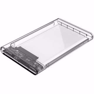 Orico 2139U3 2.5 Inch Transparent SATA To USB 3.0 Hard Drive Enclosure HDD Case Cash On Delivery Nationwide