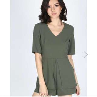 Love Bonito Padita Layered Playsuit
