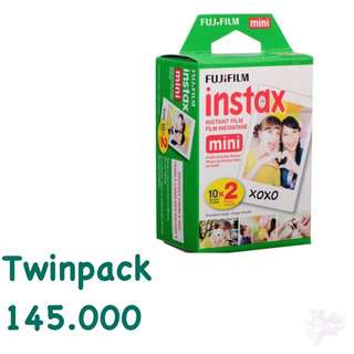 Refill Instax Mini Twinpack Plain