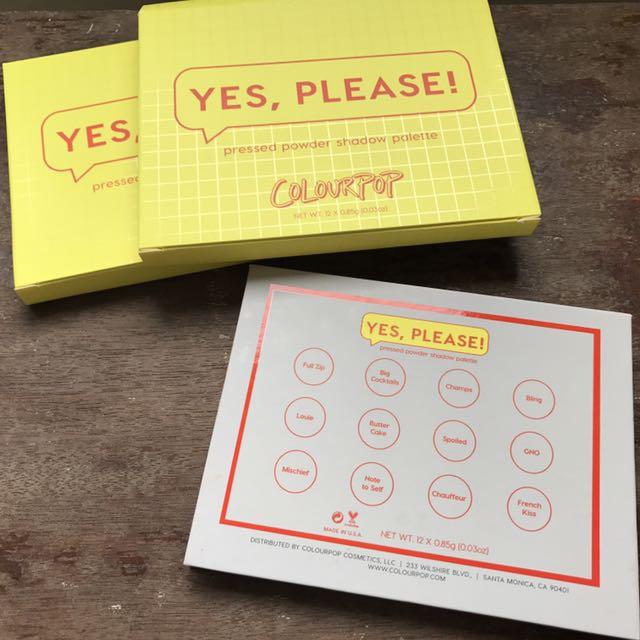 ⚠️現貨⚠️Colourpop Yes Please! 12色眼影盤